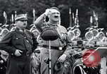 Image of Adolf Hitler reviews brown shirts Germany, 1933, second 27 stock footage video 65675031413
