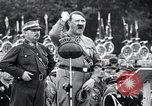 Image of Adolf Hitler reviews brown shirts Germany, 1933, second 30 stock footage video 65675031413