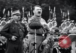 Image of Adolf Hitler reviews brown shirts Germany, 1933, second 31 stock footage video 65675031413