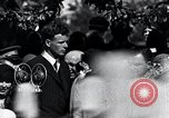 Image of Charles Lindbergh receives New York Medal of Valor New York United States USA, 1927, second 40 stock footage video 65675031418