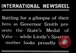 Image of Charles Lindbergh receives New York Medal of Valor New York United States USA, 1927, second 47 stock footage video 65675031418