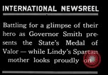 Image of Charles Lindbergh receives New York Medal of Valor New York United States USA, 1927, second 50 stock footage video 65675031418