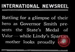 Image of Charles Lindbergh receives New York Medal of Valor New York United States USA, 1927, second 51 stock footage video 65675031418