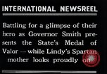 Image of Charles Lindbergh receives New York Medal of Valor New York United States USA, 1927, second 55 stock footage video 65675031418