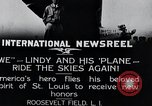 Image of Charles Lindbergh New York United States USA, 1927, second 2 stock footage video 65675031420