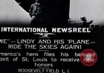 Image of Charles Lindbergh New York United States USA, 1927, second 7 stock footage video 65675031420