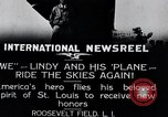 Image of Charles Lindbergh New York United States USA, 1927, second 9 stock footage video 65675031420