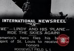 Image of Charles Lindbergh New York United States USA, 1927, second 10 stock footage video 65675031420