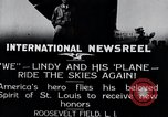 Image of Charles Lindbergh New York United States USA, 1927, second 11 stock footage video 65675031420