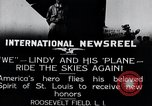 Image of Charles Lindbergh New York United States USA, 1927, second 12 stock footage video 65675031420