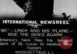 Image of Charles Lindbergh New York United States USA, 1927, second 13 stock footage video 65675031420