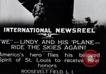 Image of Charles Lindbergh New York United States USA, 1927, second 14 stock footage video 65675031420
