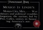 Image of Charles Lindbergh Mexico City Mexico, 1927, second 2 stock footage video 65675031425