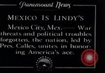 Image of Charles Lindbergh Mexico City Mexico, 1927, second 3 stock footage video 65675031425