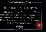 Image of Charles Lindbergh Mexico City Mexico, 1927, second 7 stock footage video 65675031425