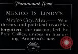 Image of Charles Lindbergh Mexico City Mexico, 1927, second 8 stock footage video 65675031425