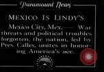 Image of Charles Lindbergh Mexico City Mexico, 1927, second 10 stock footage video 65675031425