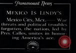 Image of Charles Lindbergh Mexico City Mexico, 1927, second 11 stock footage video 65675031425