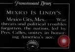 Image of Charles Lindbergh Mexico City Mexico, 1927, second 12 stock footage video 65675031425