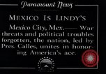 Image of Charles Lindbergh Mexico City Mexico, 1927, second 14 stock footage video 65675031425