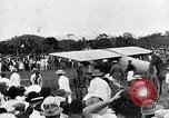 Image of Charles Lindbergh feted by President Rodolfo Chiari  Panama City Panama, 1928, second 38 stock footage video 65675031428