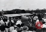 Image of Charles Lindbergh feted by President Rodolfo Chiari  Panama City Panama, 1928, second 40 stock footage video 65675031428