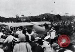 Image of Charles Lindbergh feted by President Rodolfo Chiari  Panama City Panama, 1928, second 42 stock footage video 65675031428
