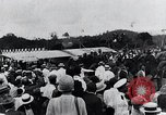 Image of Charles Lindbergh feted by President Rodolfo Chiari  Panama City Panama, 1928, second 43 stock footage video 65675031428