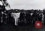 Image of Charles Lindbergh feted by President Rodolfo Chiari  Panama City Panama, 1928, second 49 stock footage video 65675031428