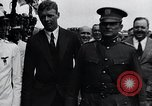 Image of Charles Lindbergh feted by President Rodolfo Chiari  Panama City Panama, 1928, second 56 stock footage video 65675031428