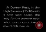 Image of Donner Pass California United States USA, 1929, second 1 stock footage video 65675031471