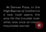 Image of Donner Pass California United States USA, 1929, second 5 stock footage video 65675031471