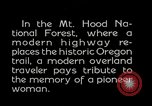 Image of Mount Hood National Forest Oregon United States USA, 1929, second 3 stock footage video 65675031473