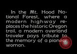 Image of Mount Hood National Forest Oregon United States USA, 1929, second 7 stock footage video 65675031473