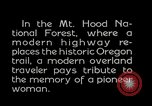 Image of Mount Hood National Forest Oregon United States USA, 1929, second 12 stock footage video 65675031473