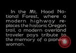 Image of Mount Hood National Forest Oregon United States USA, 1929, second 15 stock footage video 65675031473