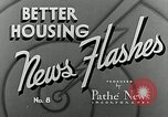 Image of bath facilities United States USA, 1936, second 13 stock footage video 65675031479