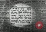 Image of housing facilities United States USA, 1936, second 8 stock footage video 65675031480