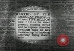 Image of housing facilities United States USA, 1936, second 11 stock footage video 65675031480