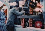 Image of Launching Liberty Ships Sausalito California USA, 1944, second 28 stock footage video 65675031502