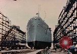 Image of Launching Liberty Ships Sausalito California USA, 1944, second 34 stock footage video 65675031502