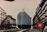 Image of Launching Liberty Ships Sausalito California USA, 1944, second 35 stock footage video 65675031502