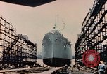 Image of Launching Liberty Ships Sausalito California USA, 1944, second 37 stock footage video 65675031502