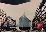 Image of Launching Liberty Ships Sausalito California USA, 1944, second 38 stock footage video 65675031502