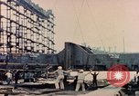Image of Launching Liberty Ships Sausalito California USA, 1944, second 50 stock footage video 65675031502