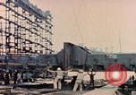 Image of Launching Liberty Ships Sausalito California USA, 1944, second 52 stock footage video 65675031502