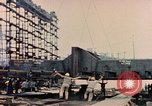 Image of Launching Liberty Ships Sausalito California USA, 1944, second 53 stock footage video 65675031502