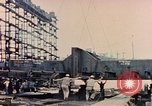 Image of Launching Liberty Ships Sausalito California USA, 1944, second 54 stock footage video 65675031502