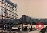 Image of Launching Liberty Ships Sausalito California USA, 1944, second 55 stock footage video 65675031502
