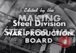 Image of making of steel United States USA, 1943, second 11 stock footage video 65675031503